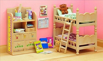Childrens Bedroom Furniture For Sale Sale Pretend Toys Sylvanian Families Toys Children 39 S Bedroom Furniture