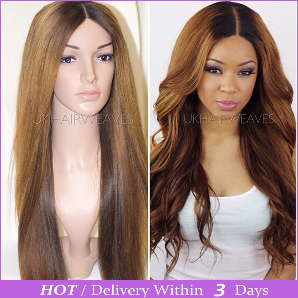 Ombre Full Lace Front Wigs 121