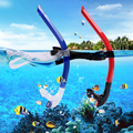 Whale Swimming Training Snorkel For Indoor And Outdoor Water Sports Unisex Multi color SK300