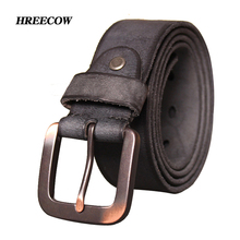 Buy New Luxury High Designer Belts Ancient Simple Style genuine leather Belts men Waist belt fast ship for $16.50 in AliExpress store