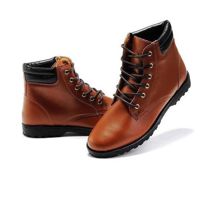 2015 Hot Sale Men's Fashion Solid Korean Style PU Leather Boots Male Casual Pointed Toe Comfortable Boots XMB014(China (Mainland))