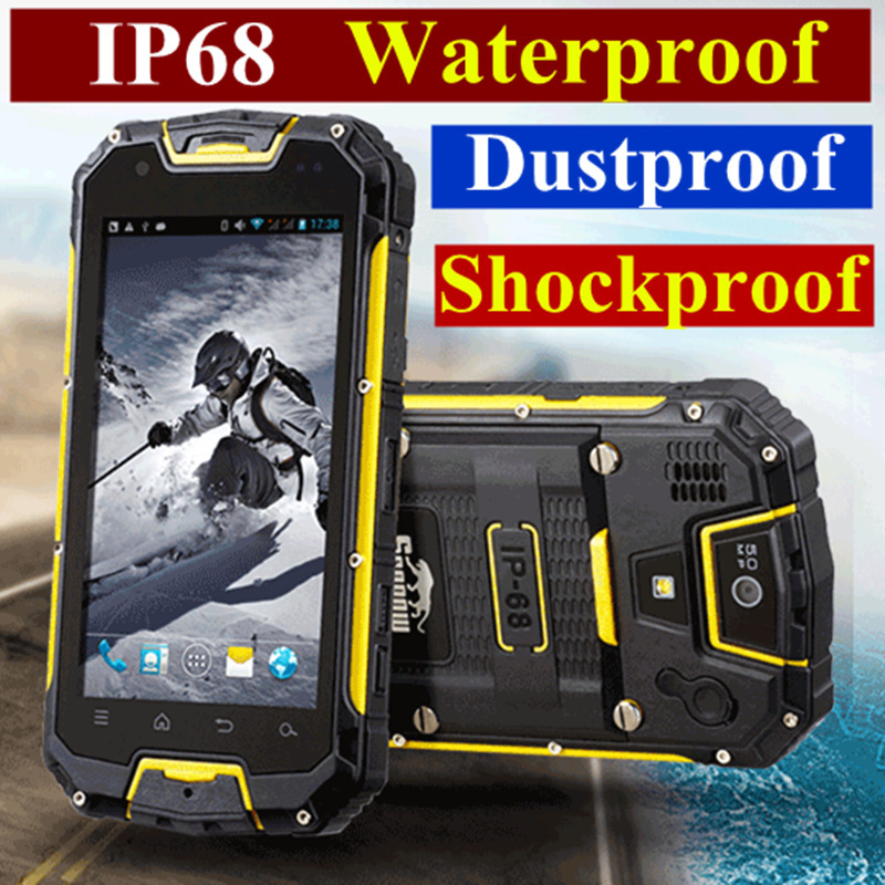 original Snopow waterproof phone M8C M8 cell mobile phone android smart ip68 rugged smartphone waterproof shockproof phone(China (Mainland))