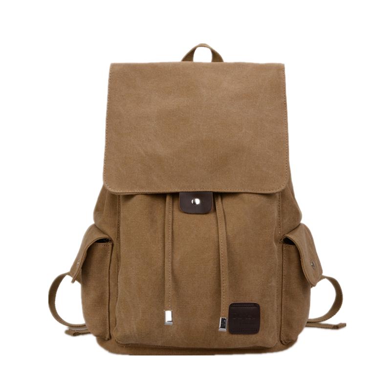 Guaranteed 100% vintage canvas backpack vintage canvas backpack hiking korean school backpacks canvas drawstring backpack(China (Mainland))