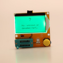 Multi-functional LCD Backlight Transistor Tester Diode Triode Capacitance ESR Meter MOS PNP NPN LCR(China (Mainland))