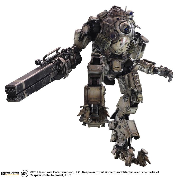 SQUARE ENIX Play Arts KAI Titanfall ATLAS PVC Motion Determine Collectible Mannequin Toy 27cm KT2903