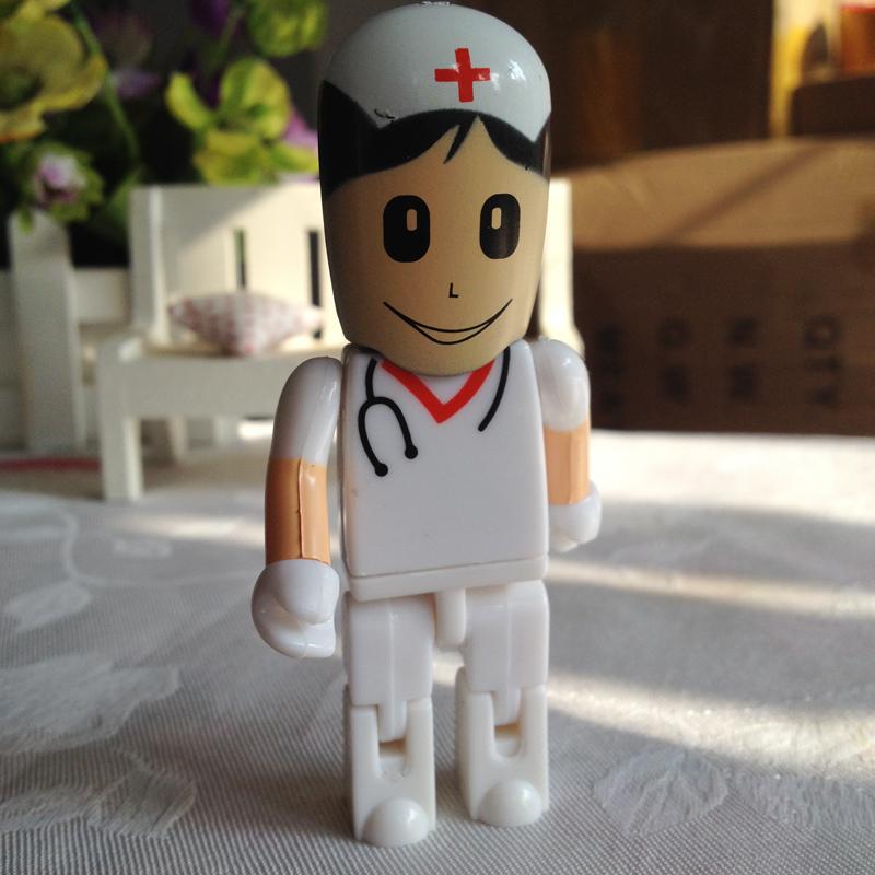 U disk mini pen drive doctor nurse gift pen drive 8gb 16gb 32gb 64gb 128gb 256gb Doctor cartoon usb flash drive pendrive()