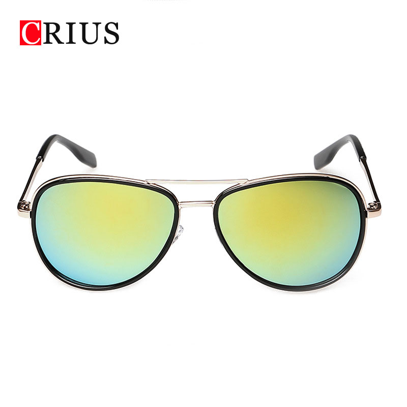 Buy 2016 New Fashion Sunglasses For Men Women Color Film Color Retro Sun