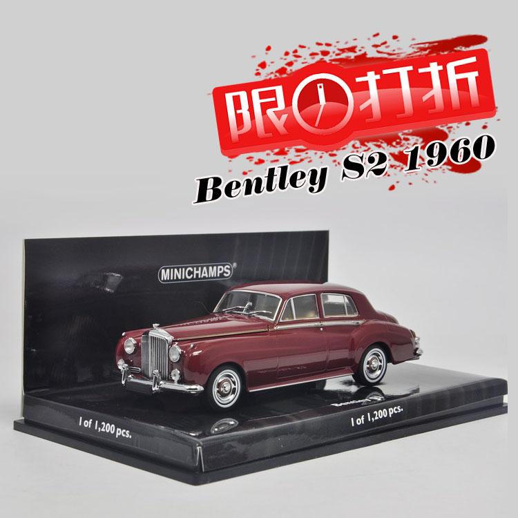 Special 1:43 cut Minichamps Bentley S2 1960 Bentley mini car model<br><br>Aliexpress