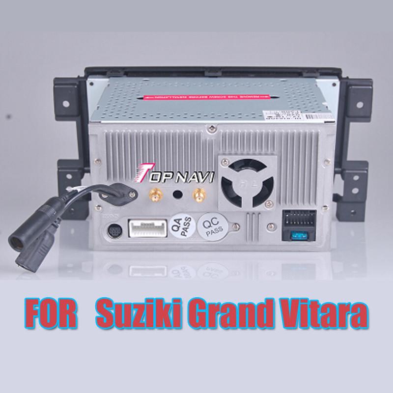 "WANUSUAL 7"" Wince Car DVD Multimedia Player for Suzuki Grand Vitara 2006 2007 2008 2009- Autoradio GPS Navigation Audio Stereo"