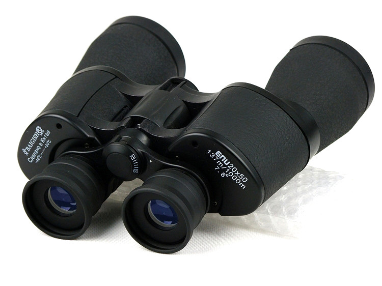 20X50  137M/1000M  High quality Hd wide-angle Central Zoom Portable LLL Night Vision Binoculars telescope free shipping