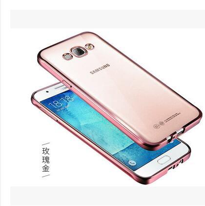 J1 J5 J7 2016 Luxury Style Plating Gilded TPU Soft Silicone Phone Case For Samsung Galaxy J1 J1 ACE J2 J3 J5 J7 J120 J510 J710(China (Mainland))