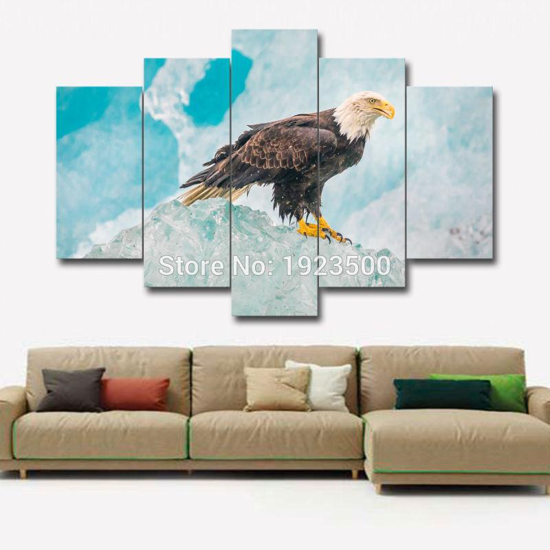 Online kopen wholesale amerikaanse eagle schilderen uit china amerikaanse eagle schilderen - Modulaire muur ...