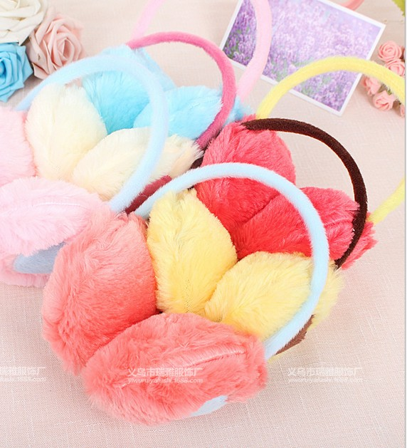 New Korean love plush warm winter earmuffs ear protection earmuffs cover their ears warm ear package(China (Mainland))