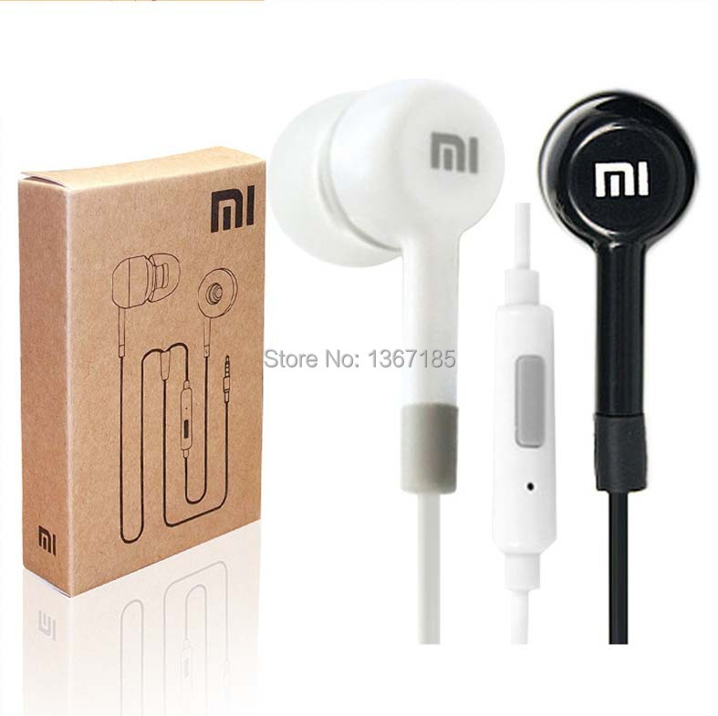 New Hot Sale! High Quality XIAOMI Earphone Headphone Headset For XiaoMI M2 M1 1S Samsung iPhone MP3 MP4 With Remote And MIC(China (Mainland))