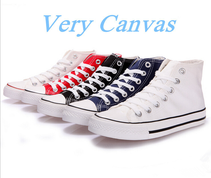 Гаджет  2015 New! Free Shipping Unisex Classic Style Canvas Shoes For Woman Lace up Women Sneakers Hign Quality Fashion Sneakers None Обувь