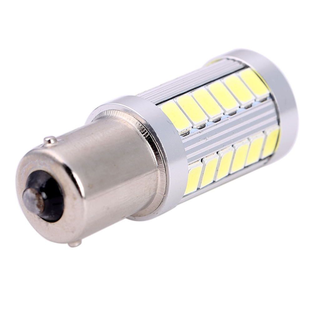 1pcs 33smd 5630 5730 led 1156 BA15S P21W Car Tail Bulb Brake Lights auto Reverse Lamp Daytime Running Light red white yellow 2X(China (Mainland))