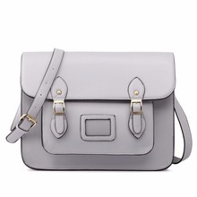 Buy MISS LULU Women PU Leather Large iPad A4 Book School Cross Body Messenger Satchel Bag Gray LT1665 GY for $35.99 in AliExpress store