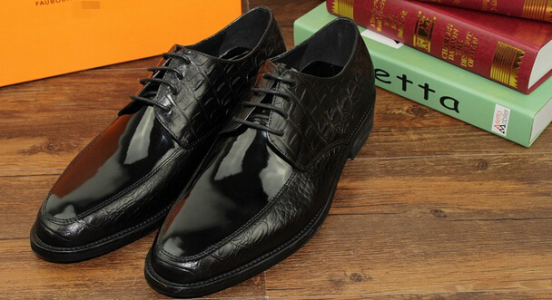 Patent leather Black mens dress shoes business shoes genuine leather mens wedding shoes pointed toe mens office shoes<br><br>Aliexpress