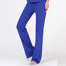 Chic Multicolored Women's Casual Sports Cotton Soft Exercise Training Loose Pant Free shipping