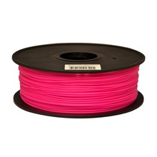 Synkia brand Rosered3D Printer Filaments PLA 1kg plastic Rubber Consumables for 3d Pen MakerBot/RepRap/UP/Mendel Free Shipping