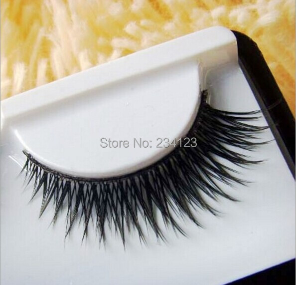 1Pairs / lot Wholesale High Quality Fake False Eyelashes Eye Lashes Brand Makeup Eyelash Extension(China (Mainland))