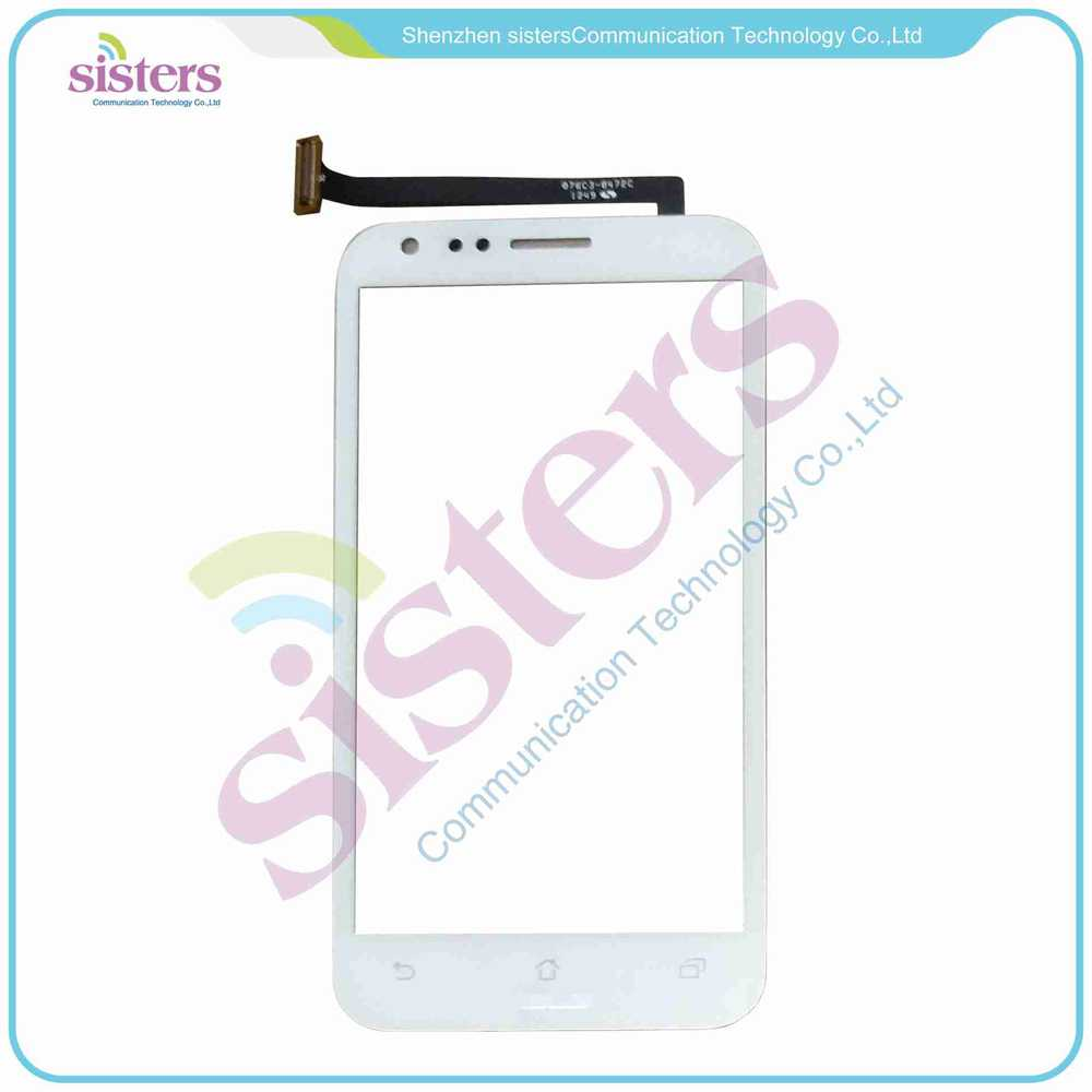 High Quality New Wholesale White Black Touch Screen Digitizer Panel Replacement Parts For ASUS PadFone 2 II A68, Free Shipping