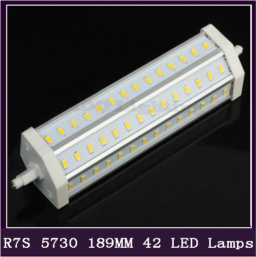 1PCS/LOT R7S LED 25W LED Lamp SMD 5730 189mm 110V 220V LEaD Light Bulb Replace Halogen Lamp(China (Mainland))