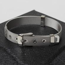 Bijoux 2015 New Fashion Mens Jewelry 316L Stainless Steel Bracelet & Bangles Pulseira Masculina for Men Bracelet in Jewellery