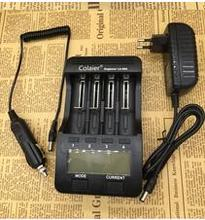 2016 Colaier Lii-500 NiMH Battery Charger,3.7V 18650 26650 18500 16340 14500 18350 1.2V AA AAA 5V output LCD smart charger - Wa Huans store