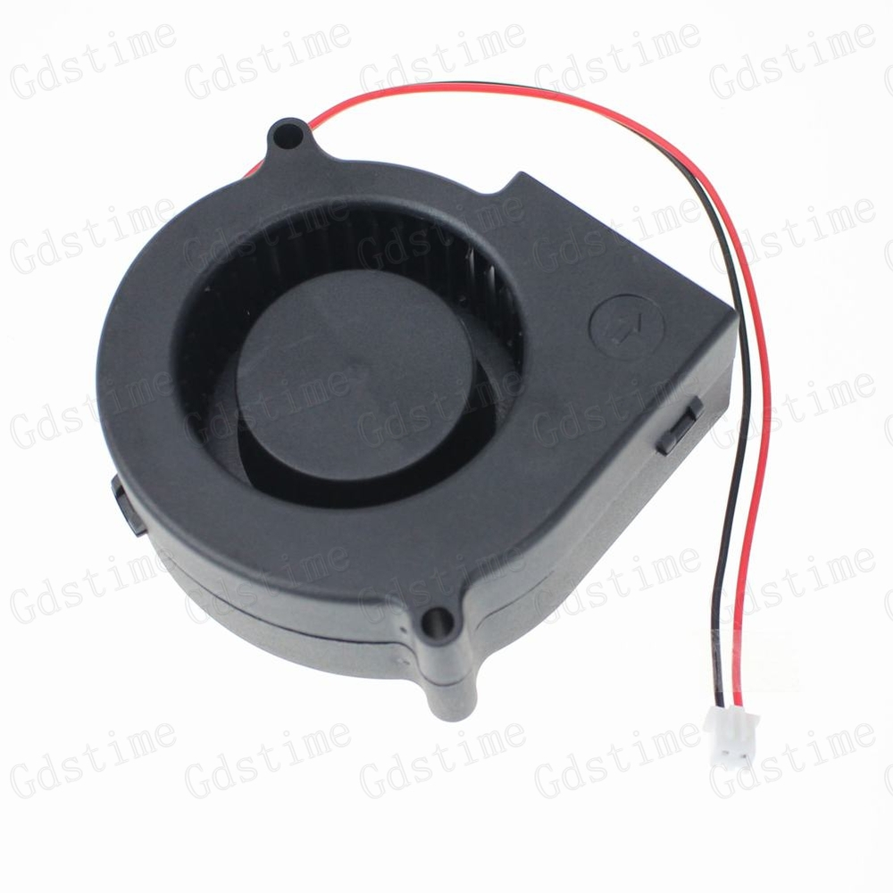 2PCS Lot 75mm DC 12V Brushless Cooling Exhaust Blower Cooler Fan 12 Volt 75x30mm 75mm x 30mm 7530S New<br><br>Aliexpress