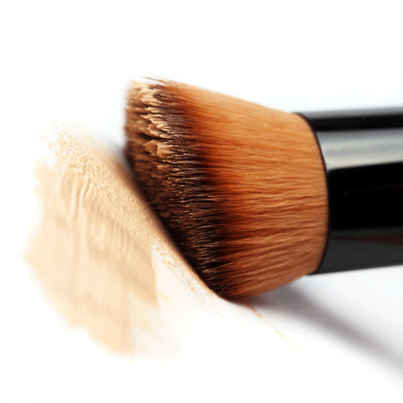 1PCS Multi-Function Pro Makeup Brushes Powder Concealer Blush Liquid Foundation Make up Brush Set Wooden Kabuki Brush Cosmetics(China (Mainland))