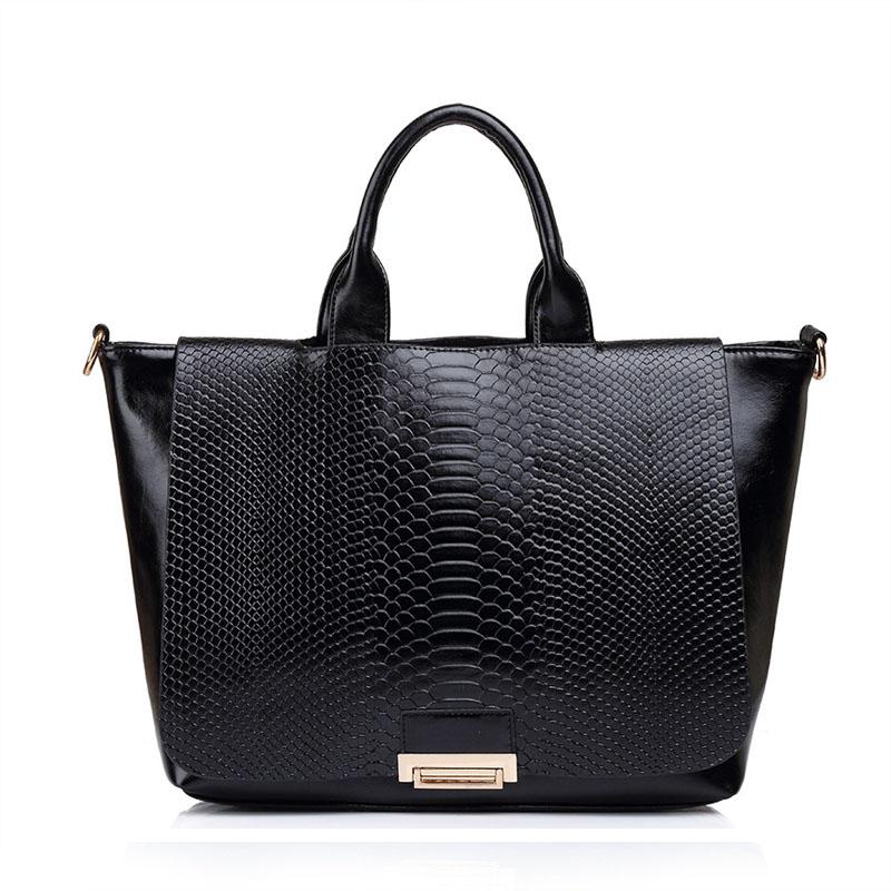 High Quality Pu Leather Women Shoulder Bag Elegant Ladies Handbag Classic Fashion Tote Handbags Messenger Bags