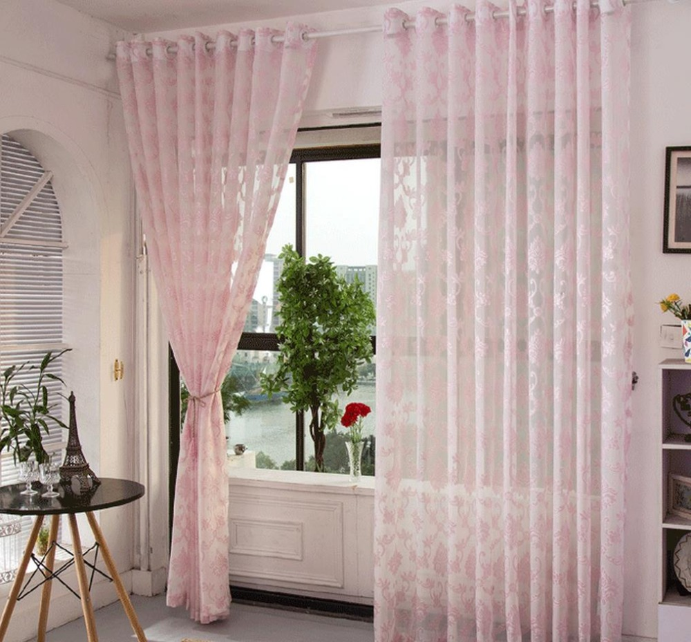 Cheesecloth curtains