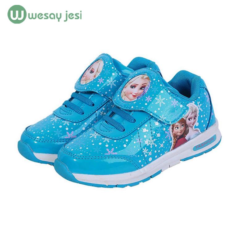 Girls shoes 2016 spring Cartoon children kids sneakers trainers Shoes Waterproof Sports Casual girl school - stars twinkle store