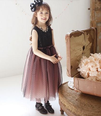 Brand Childrens baby Black sequined vest dress child summer Sleeveless gauze princess dress wholesale<br><br>Aliexpress