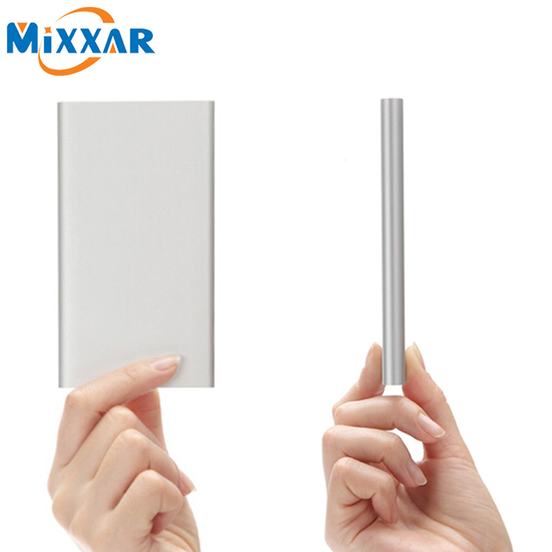 ZK90 Mixxar Power Bank 5000mAh Ultra Slim Powerbank External Battery Charger For iPhone 4 4s 5 5s 6 6s iPad(China (Mainland))