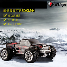 RC Car Original Wltoys A979 2.4G Remote Control 1:18 1/18 Scale Mini 4WD Electric RTR Truck Off-road Car Toy(China (Mainland))