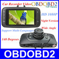 100 Original GS8000L Novatek 2 7 140 25fps HD 1080P Car DVR Vehicle Camera Video Recorder