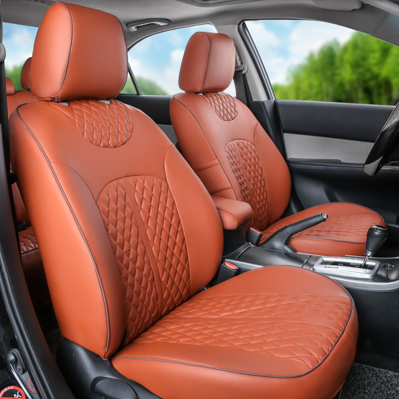 PU leather car seat cover for 2015 land rover discovery sport seat covers car accessories classic car cover seat cushion set(China (Mainland))