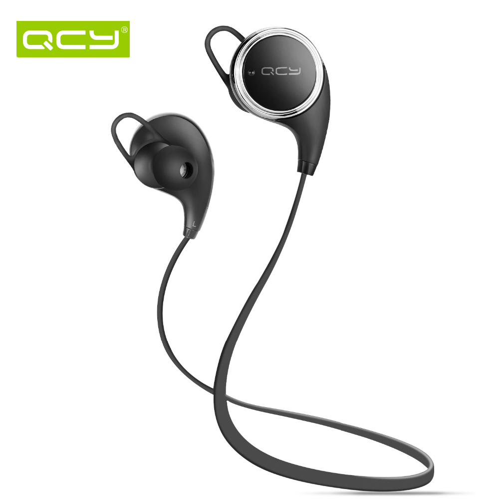 original new qcy qy8 bluetooth 4 1 headphone wireless sports stereo running earphone portable. Black Bedroom Furniture Sets. Home Design Ideas