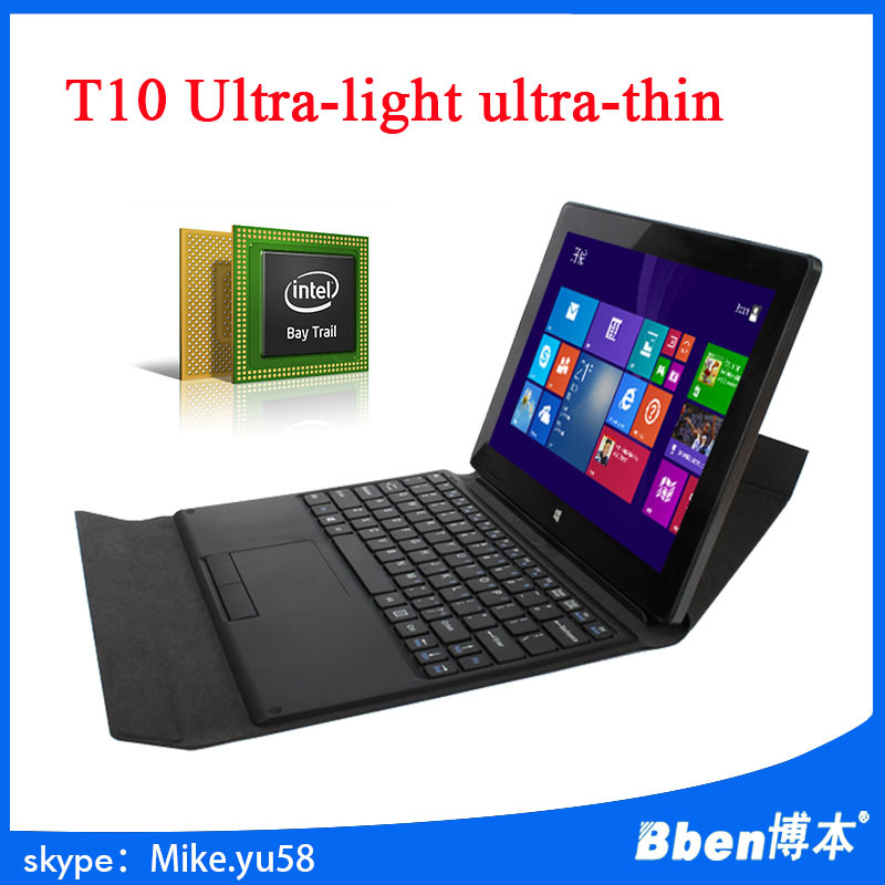 In Stock Bben 10.1 Inch Original IPS Screen windows 8.0 Quad Core 2G 32/64GB Tablet PC wholesale tablet pc(China (Mainland))