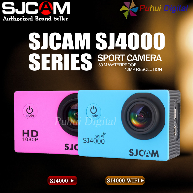SJCAM SJ4000 Series SJ4000 & SJ4000 WIFI Action Camera Waterproof Camera 1080P Sport DV(China (Mainland))