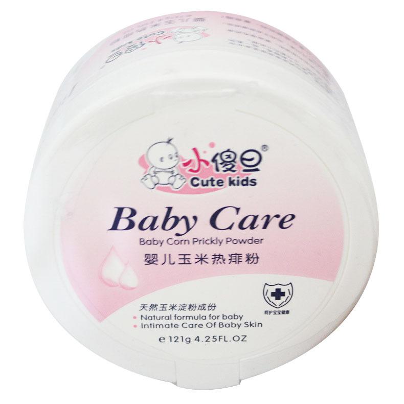 121g Baby cream baby com prickly powder for Corn powder hot miliaria protect skin free shipping(China (Mainland))