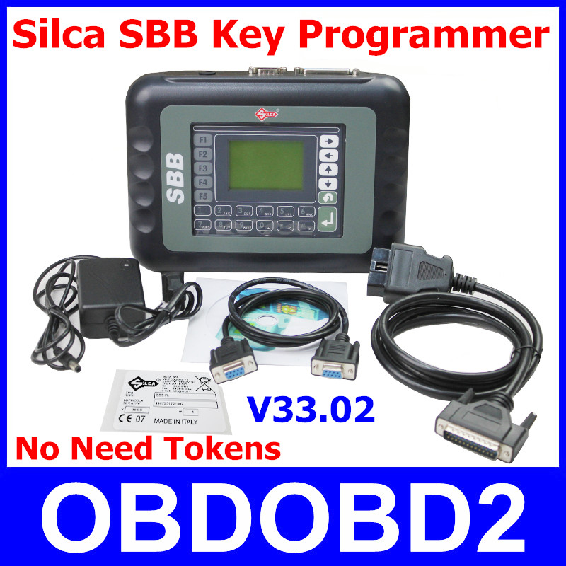 2016 Professional SBB Key Programmer V33.02 No Tokens Silca SBB Auto Key Pro Immobilizer Programming Tool For Multi Brand Cars(China (Mainland))