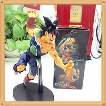Dragon Ball Z Battle Damage Ver. Son Goku Action Figure 18# Saiyan Goku Doll PVC ACGN figure Brinquedos Anime 22CM