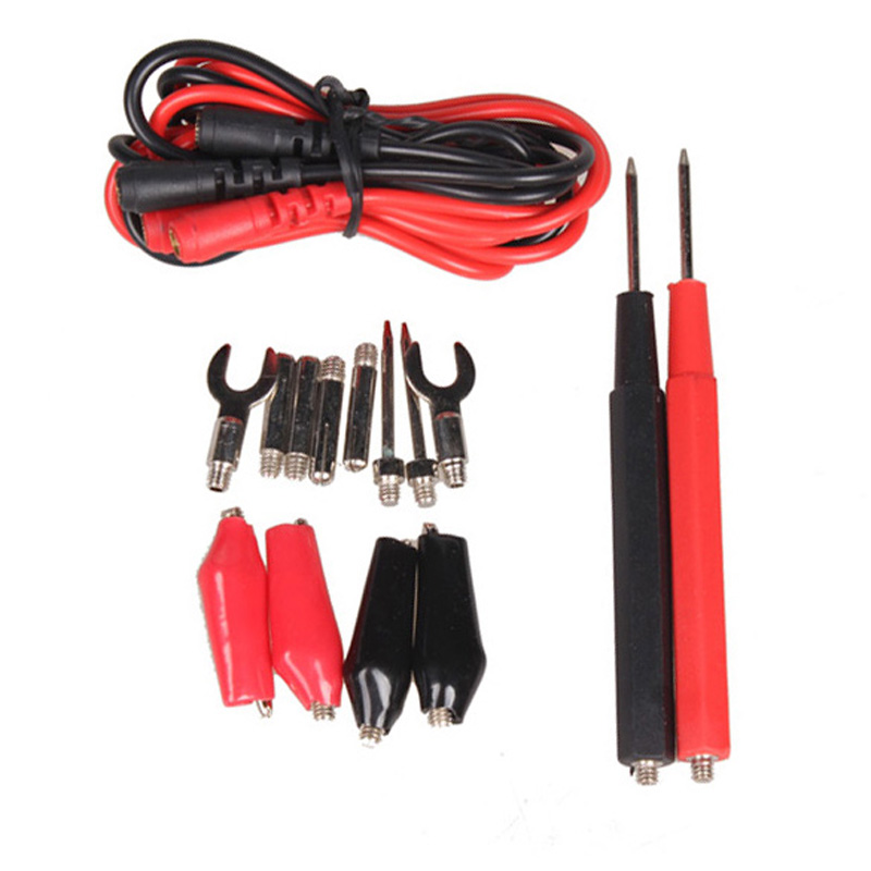1 Set Multifunction Digital Multimeter Probe Test Lead Cable Alligator Clip FULI(China (Mainland))