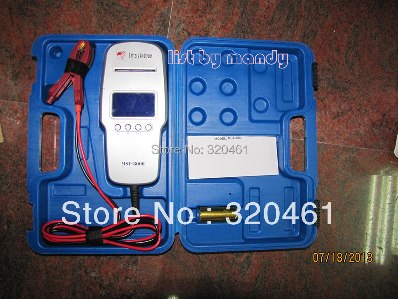 Mst-8000 автомобильный аккумулятор анализатор со встроенным принтером с CE утвержден