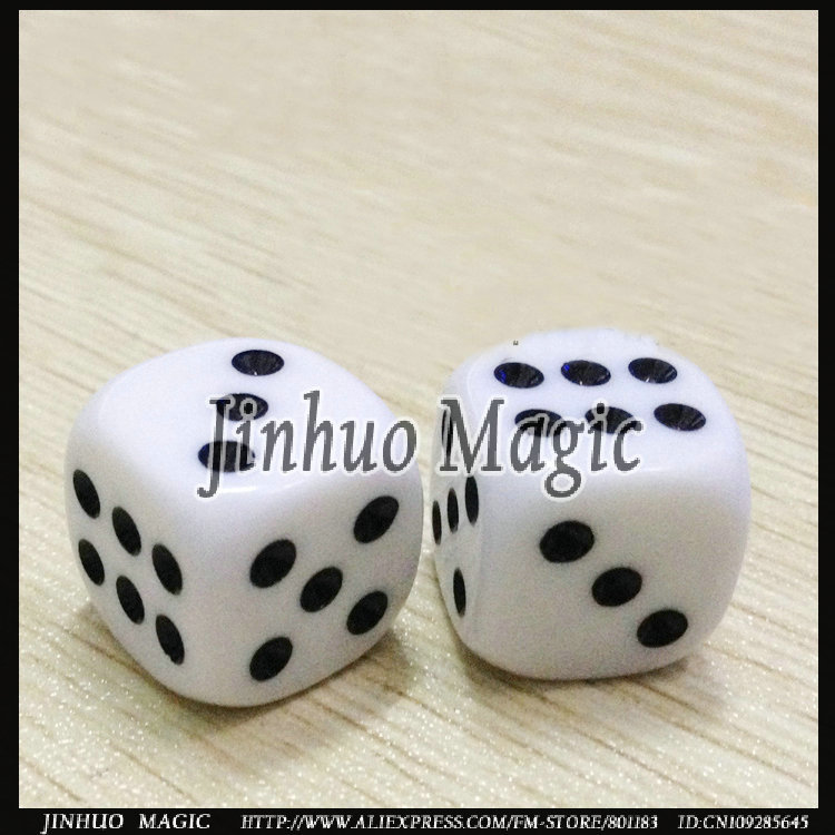 Free shipping Any point Autonatic dice magic trick 50pcs/lot  for trik sulap kartu wholesale<br><br>Aliexpress