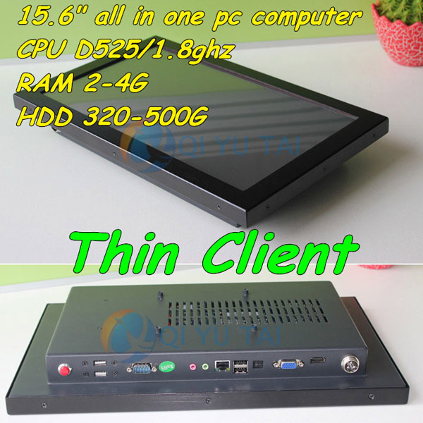 """15.6"""" Desktop Computer LED HD Display All in One PC Thin Client(China (Mainland))"""