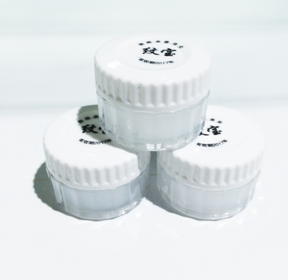 50Pcs Tattoo Aftercare Cream Skin Recovery Cream Tattoo Nursing Repair Ointments For Permanent Makeup Eyebrow Lips(China (Mainland))